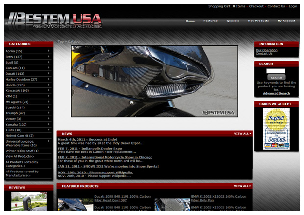 Bestem USA - Home Page