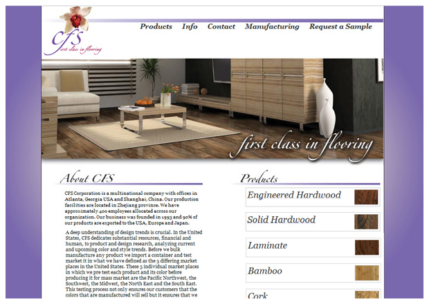 CFS Flooring - Home Page