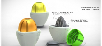 Twist, a citrus juicer