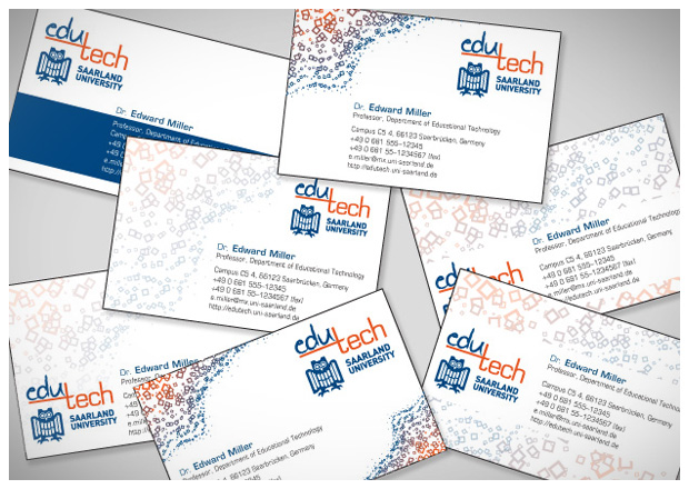 EduTech - Business Card design