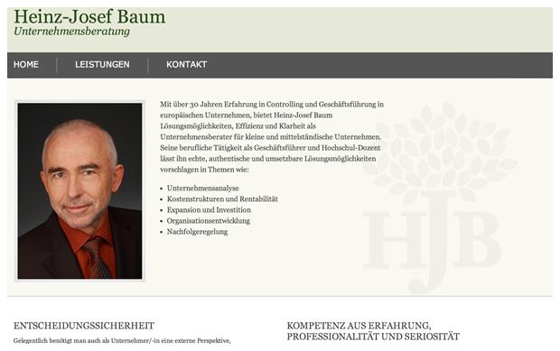 Heinz-Josef Baum - Home Page